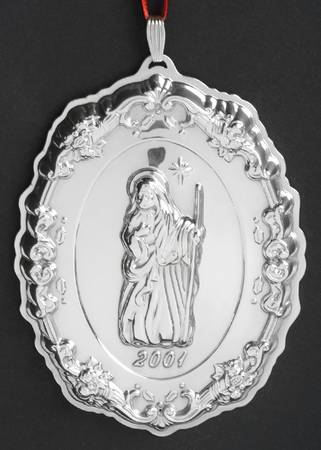 Reed & Barton - 'Xmas Ornament' - Francis I- Nativity-#5- 2001