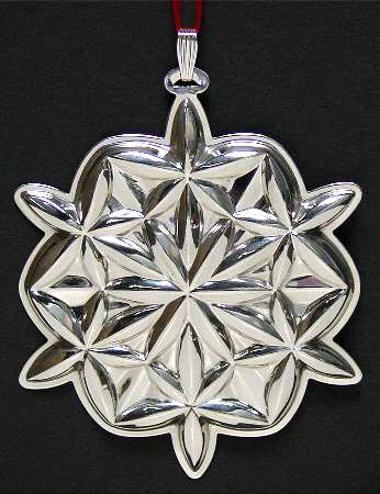 Waterford - 'Xmas Ornament' - Lismore Snowflake-2006-#6
