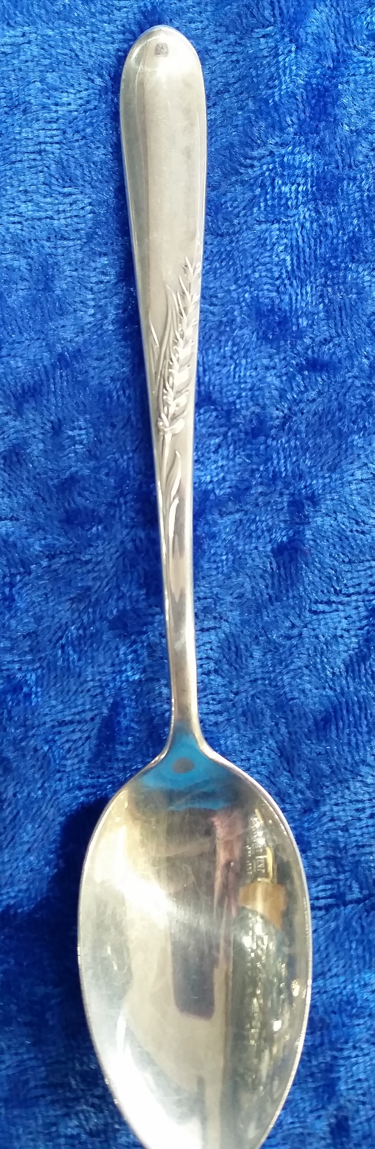 Reed & Barton - 'Silver Wheat' - Demitasse Spoon