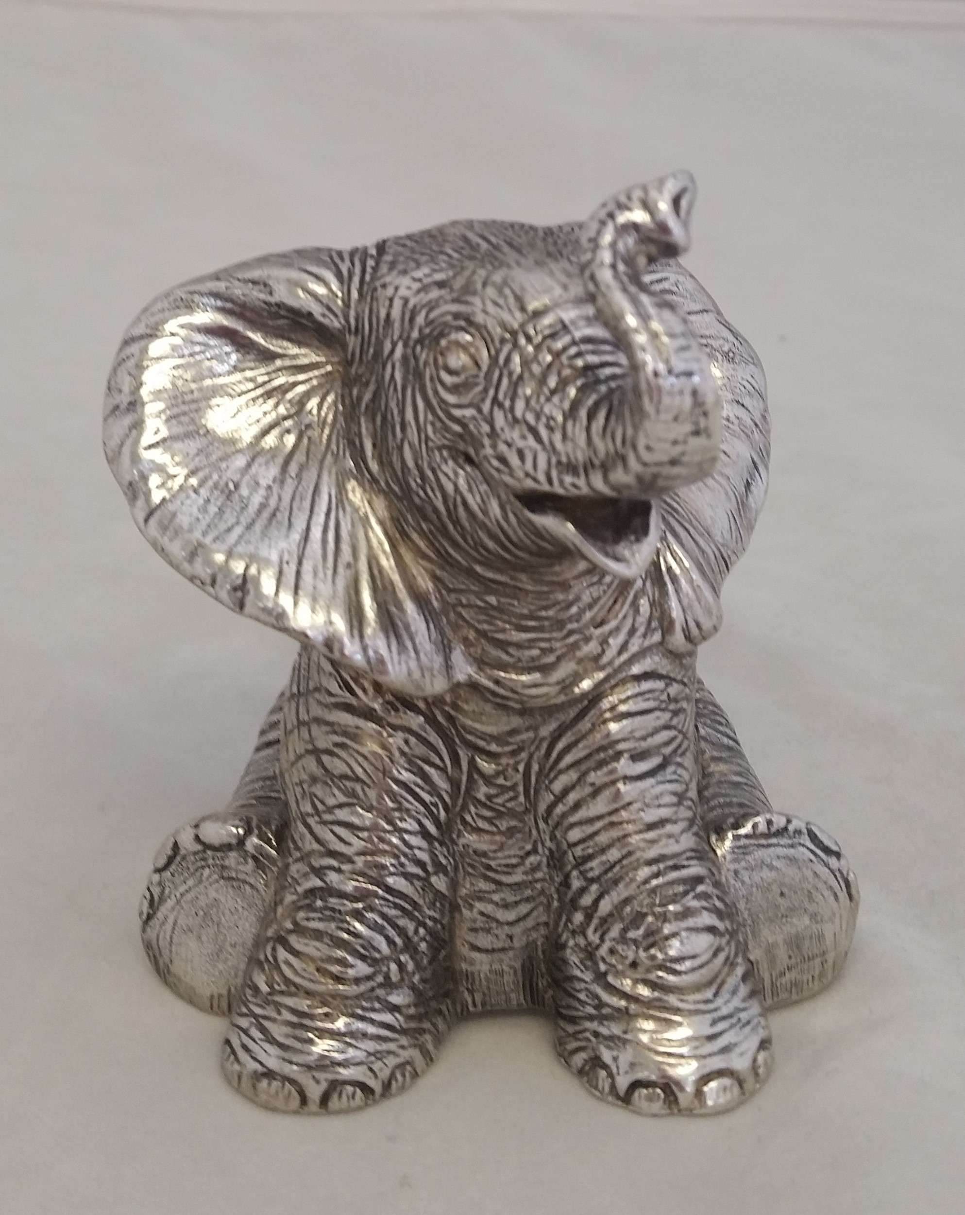 Reed & Barton Silver Plate - 'Baby Elephant' - Musical