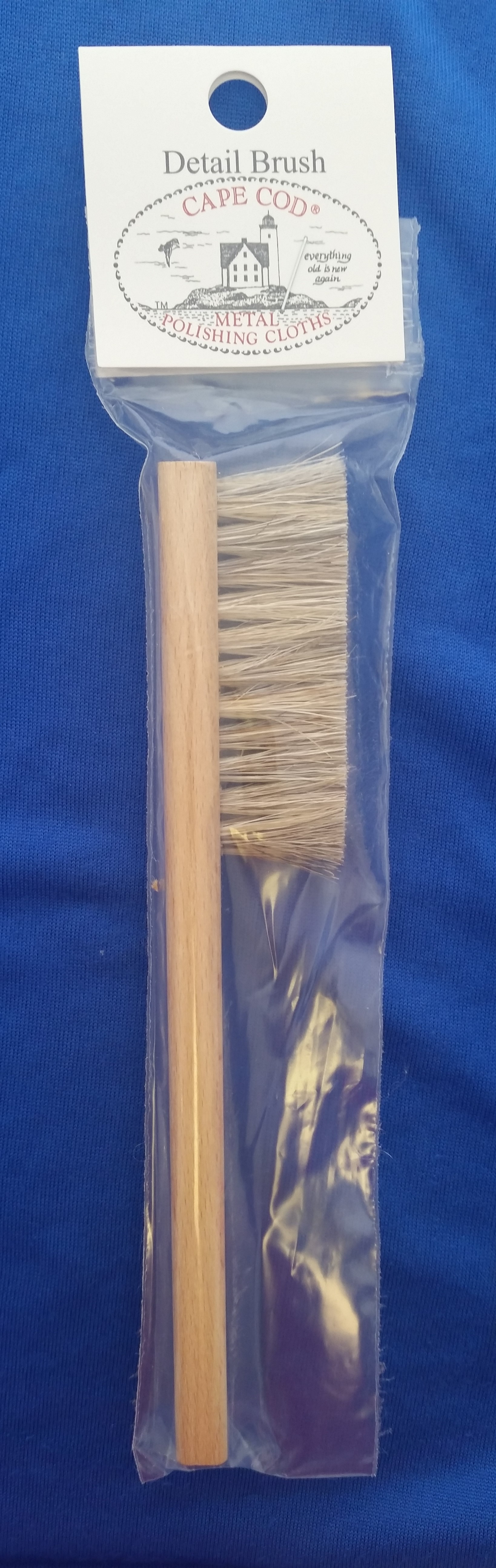 Cape Cod - 'Silver Care Products' - Horsehair Brush