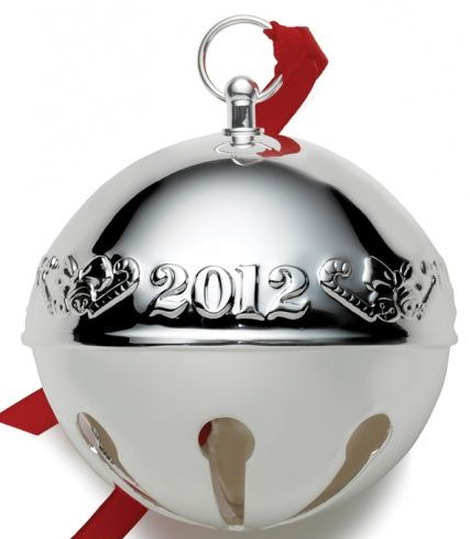 Wallace Silver Plated - 'Xmas Ornament' - Annual.Bell- 2012- 42st
