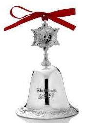Wallace Silver Plated - 'Xmas Ornament' - Gr. Baroque Bell 2012- 18th Ed