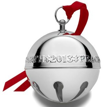 Wallace Silver Plated - 'Xmas Ornament' - Annual Bell- 2013- 43rd