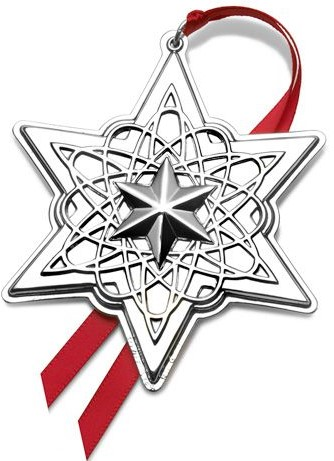 Towle - 'Xmas Ornament' - Star- 2013-17th in series