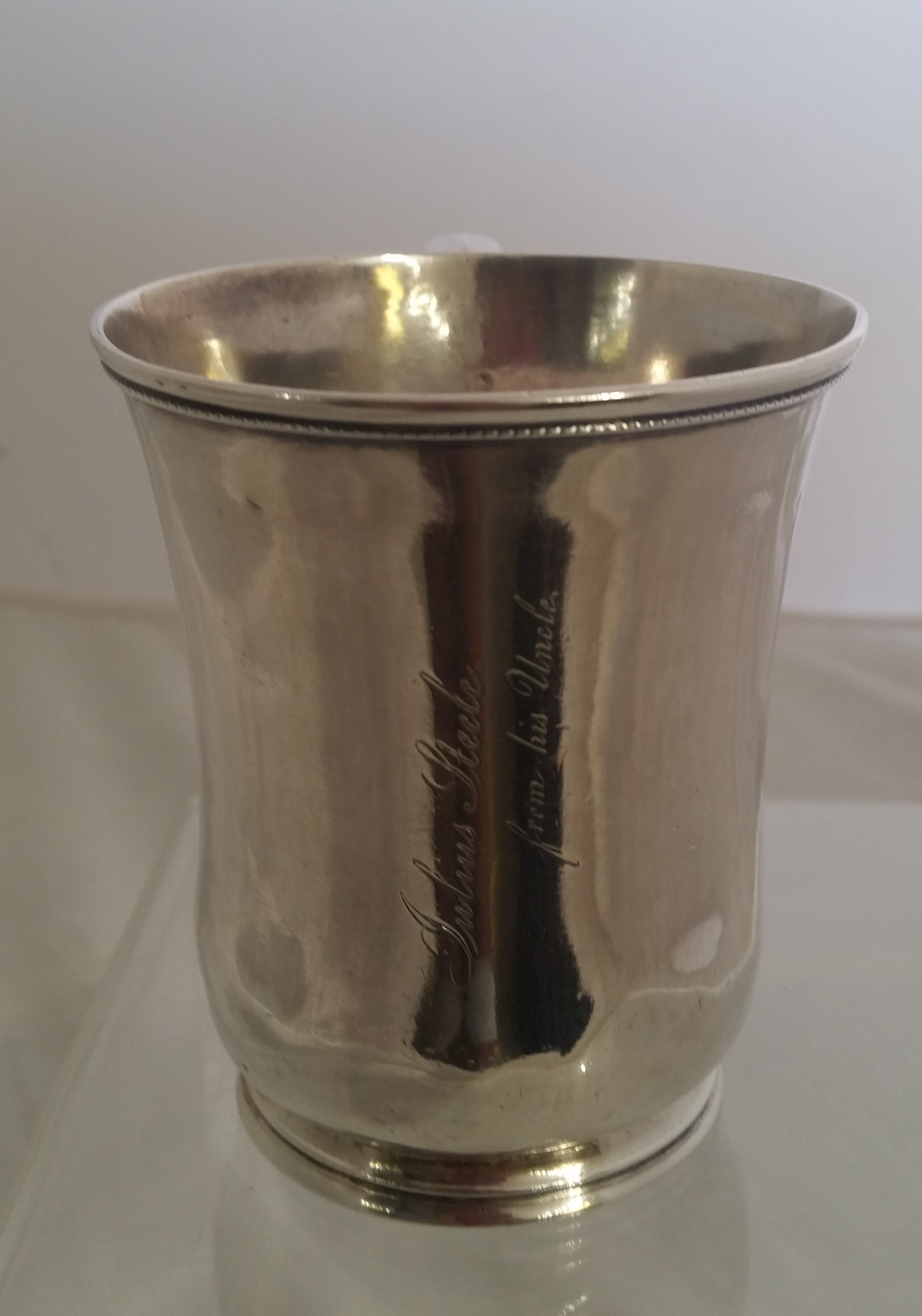 Wm. Gale & Son - 'Coin Silver' - Baby Cup