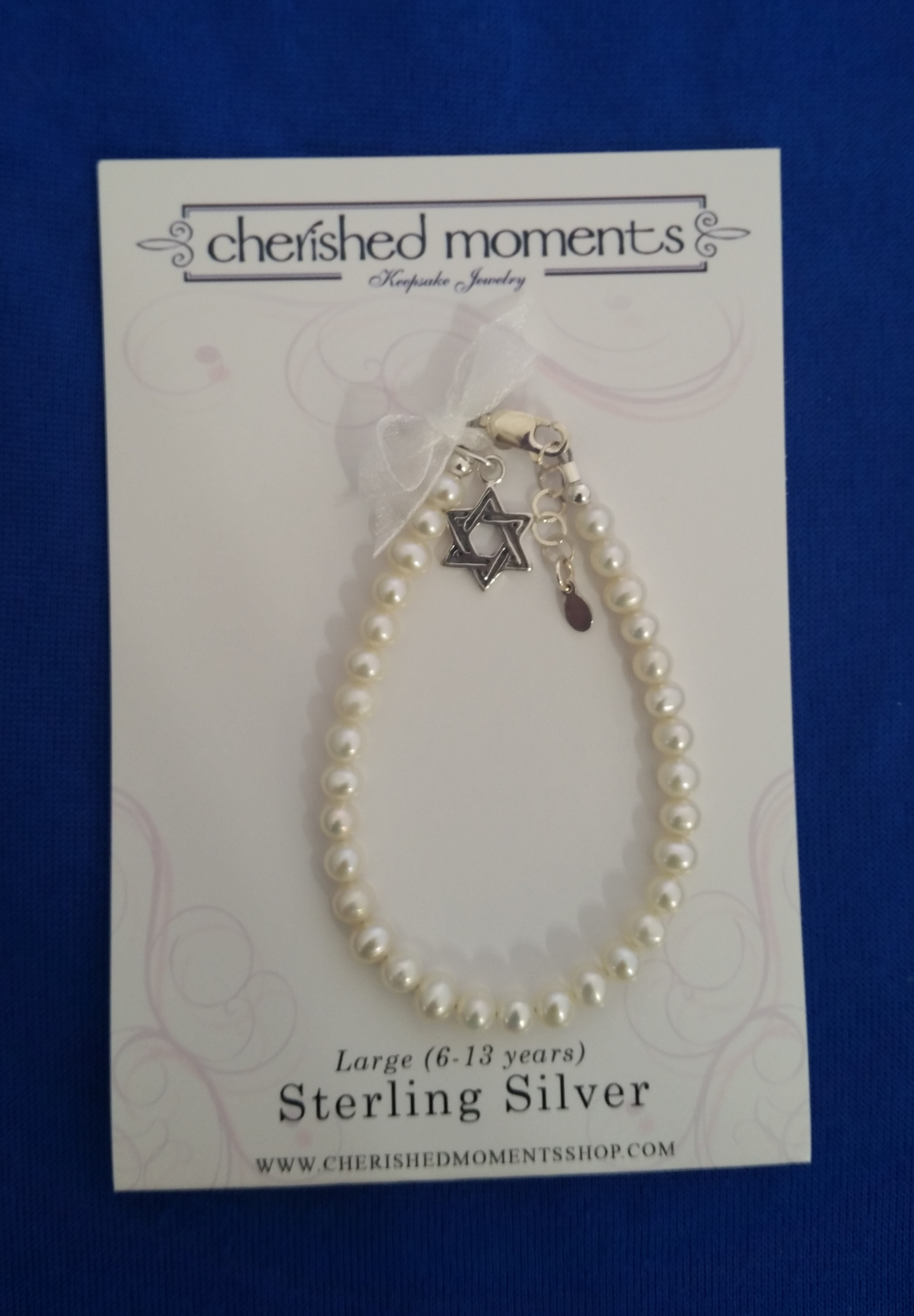 Cherished Moments - 'Baby Jewelry' - Bracelet-Star of David