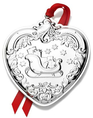 Wallace - 'Xmas Ornament' - Heart- Gr. Baroque-2013-#22