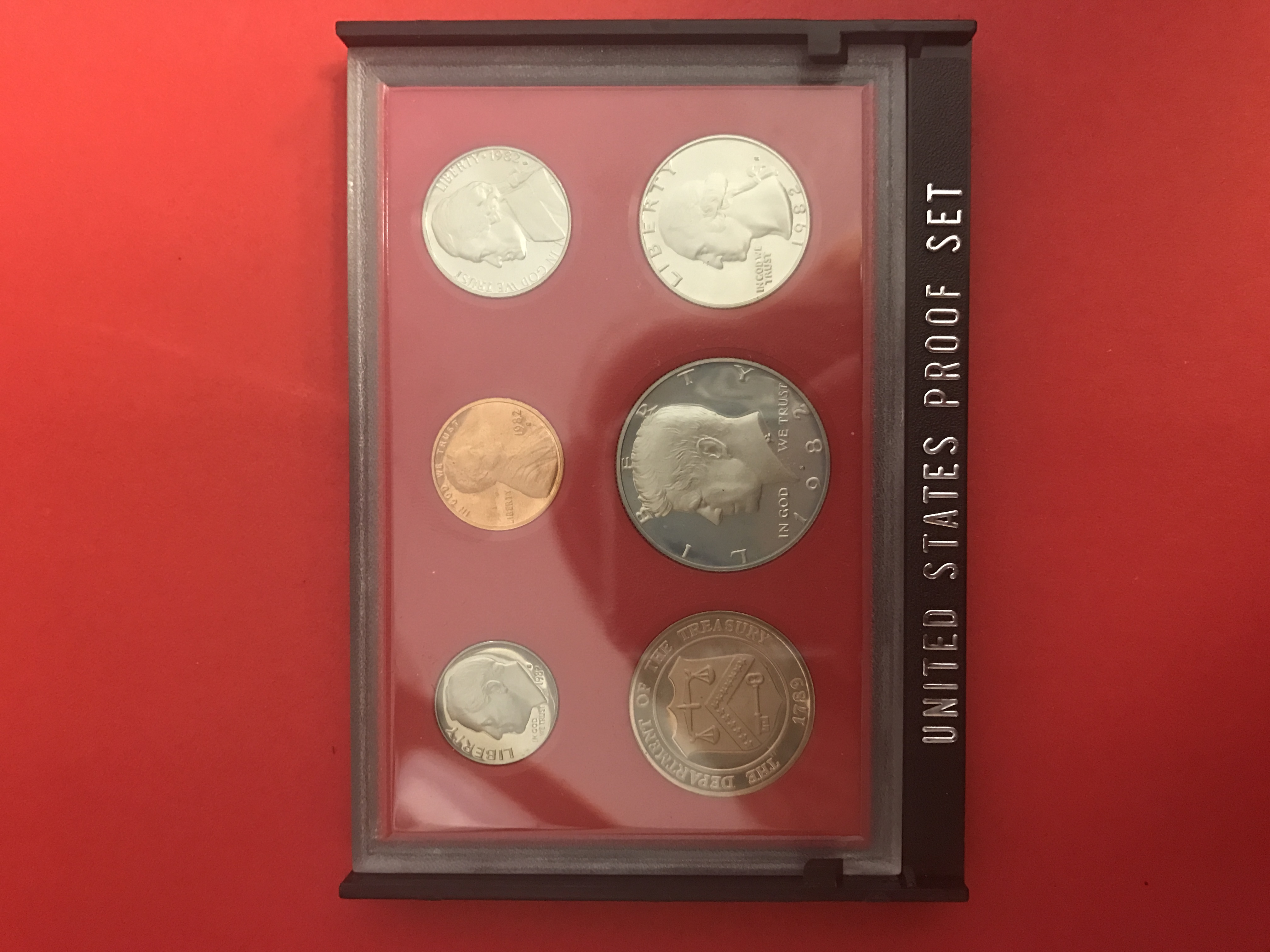 U.S. Coin - 'Proof Set' - 1982