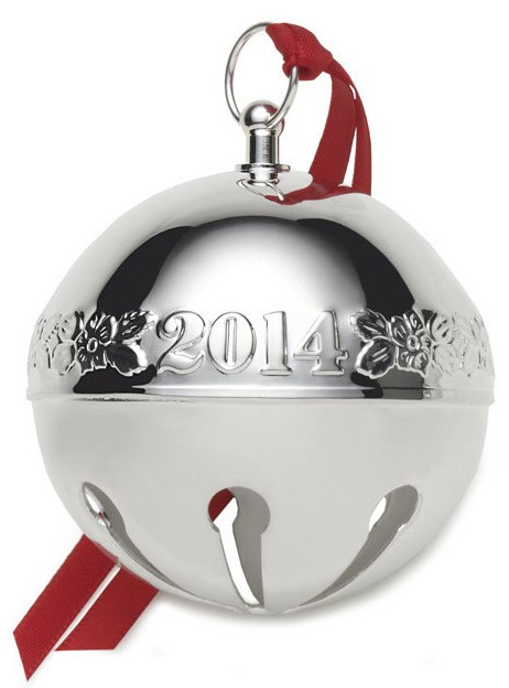 Wallace Silver Plated - 'Xmas Ornament' - Annual Bell- 2014- 44th