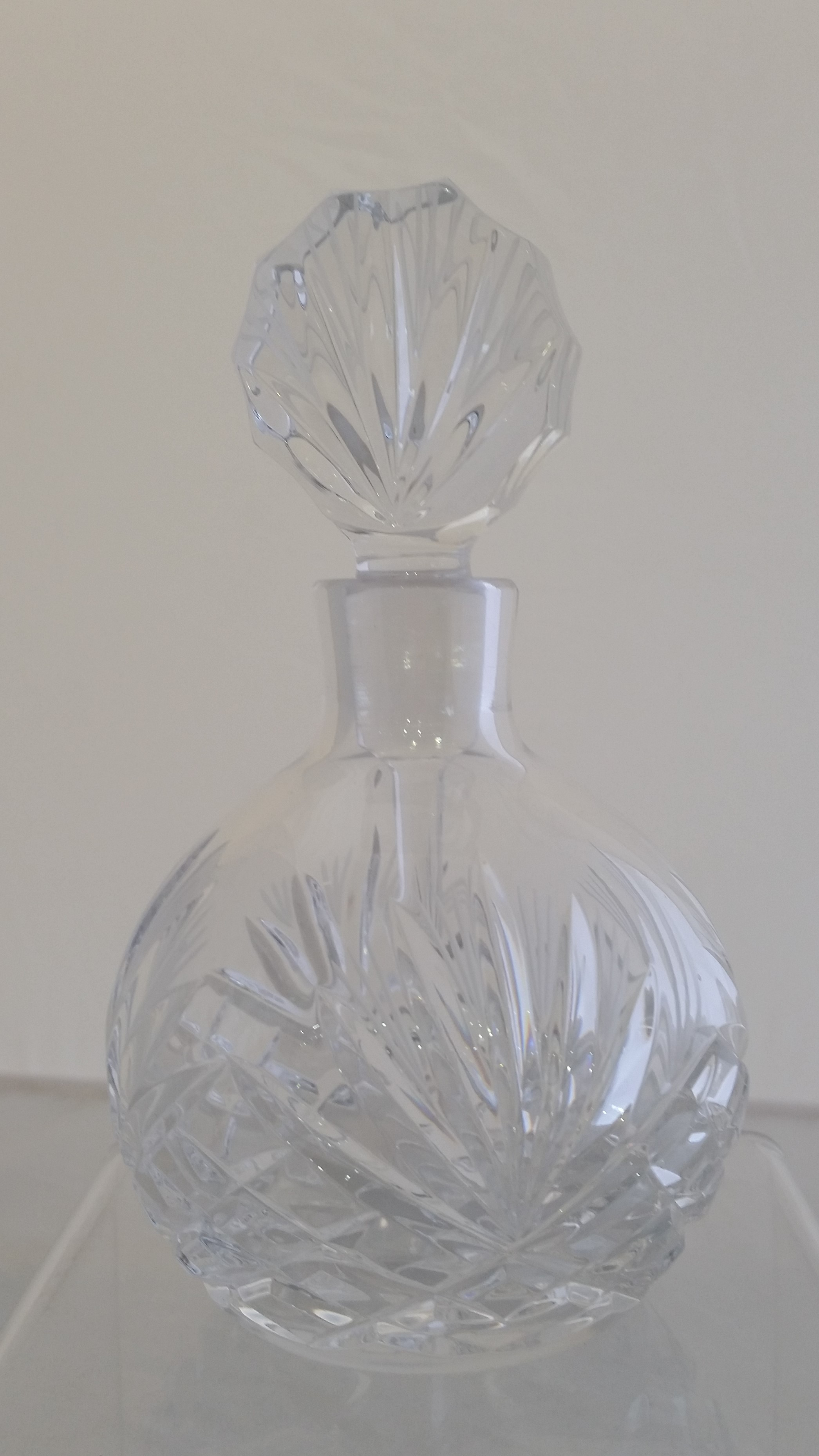 Majestic Gifts - '24% Lead Crystal' - Perfume Bottle- #MA823