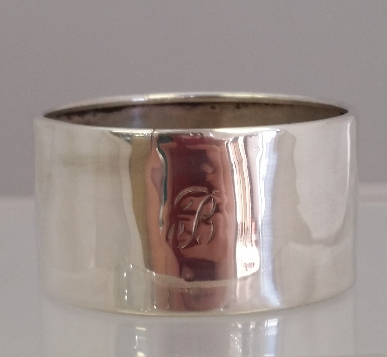 Newburyport Silver Co. - 'Napkin Ring' - Napkin Ring. Plain as is