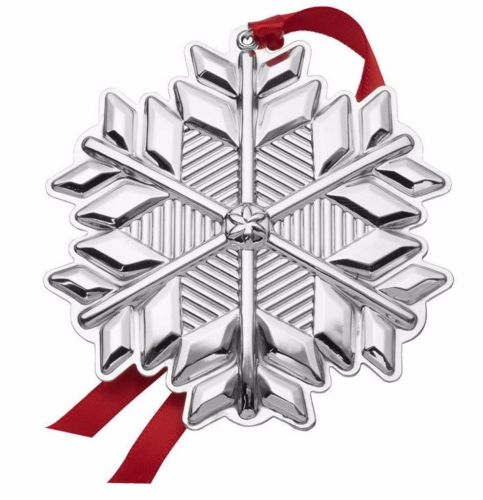 Gorham - 'Xmas Ornament' - Snowflake- 2017- 48th annual