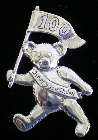 Hand & Hammer - 'Xmas Ornament' - Teddy Bear 100th Anniv.#xos3100