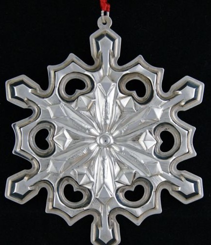 Gorham - 'Xmas Ornament' - Snowflake- 1979-no box