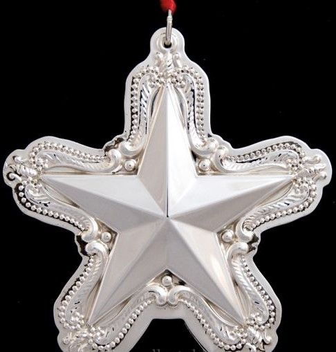 Towle - 'Xmas Ornament' - Star- 2000- 4th in series