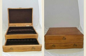 - 'Flatware Storage Chest' - Estate