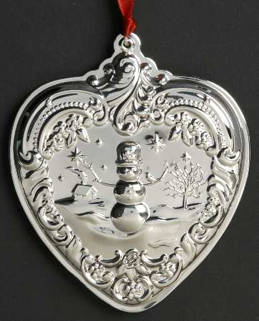 Wallace - 'Xmas Ornament' - Heart- Gr. Baroque-2010-#19