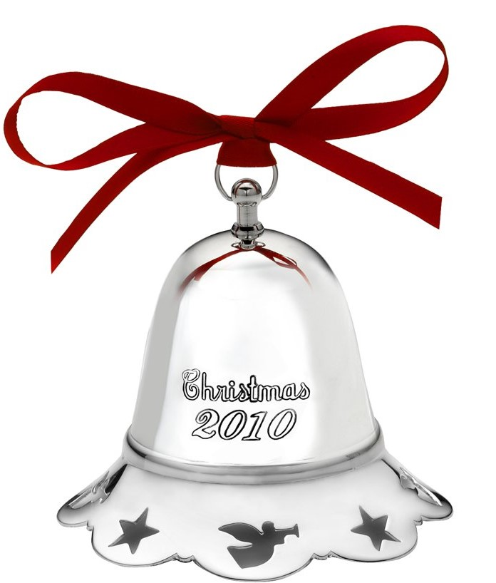 Towle Silver Plated - 'Xmas Ornament' - Bell Pcd. 2010-#31