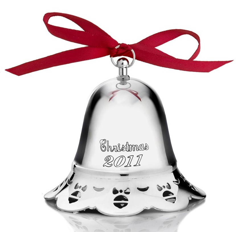 Towle Silver Plated - 'Xmas Ornament' - Bell Pcd. 2011#32