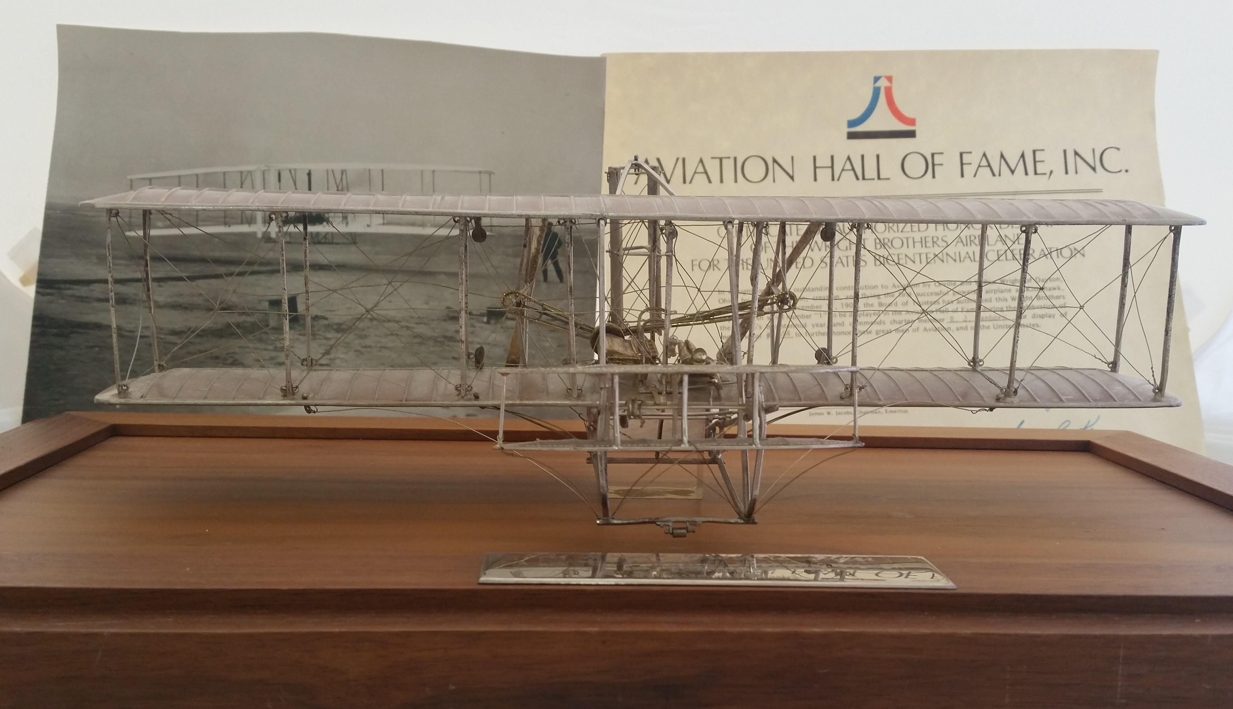 Paramount Classics - 'Wright Brothers Flyer' - Scale Sterling model