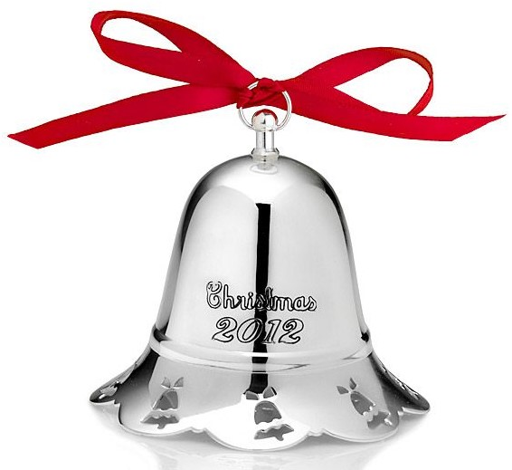 Towle Silver Plated - 'Xmas Ornament' - Musical Bell-2012