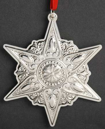 Towle - 'Xmas Ornament' - Star- 2012-16th in series