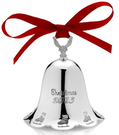 Towle Silver Plated - 'Xmas Ornament' - Bell Pcd. 2013-#34