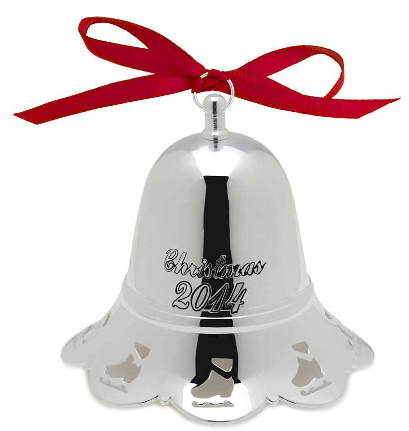 Towle Silver Plated - 'Xmas Ornament' - Musical Bell-2014-34th ed.