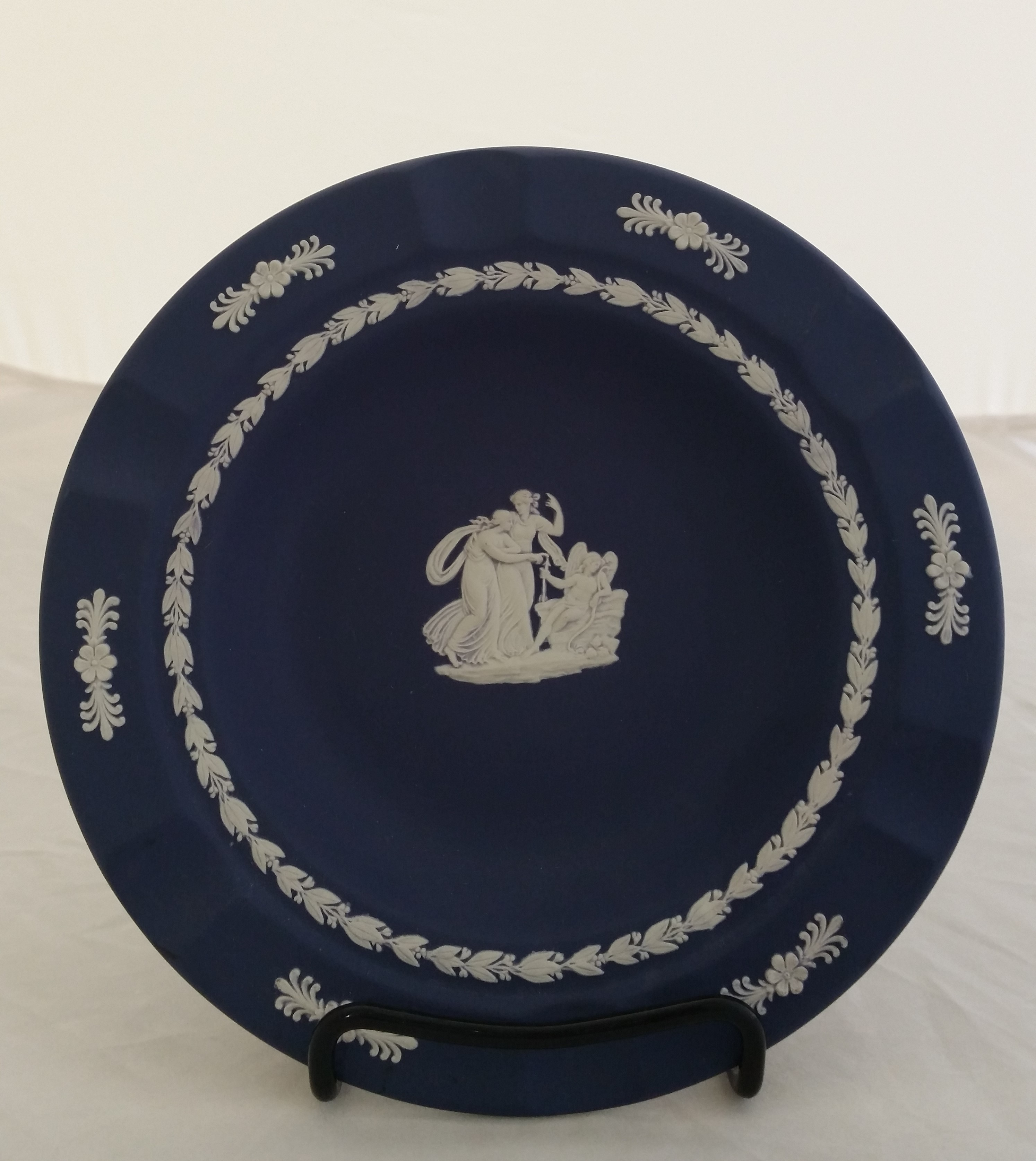 Wedgewood - 'Dk. Blue' - Ashtray Lg.