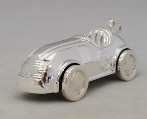Reed & Barton Silver Plate - 'Race car' - Musical