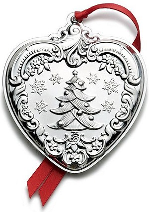 Wallace - 'Xmas Ornament' - Heart- Gr. Baroque-2012-#21