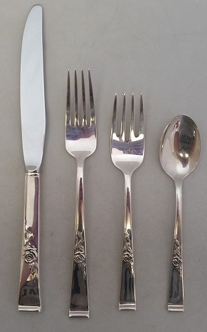 Reed & Barton - 'Classic Rose' - Place Size Setting- 4pc
